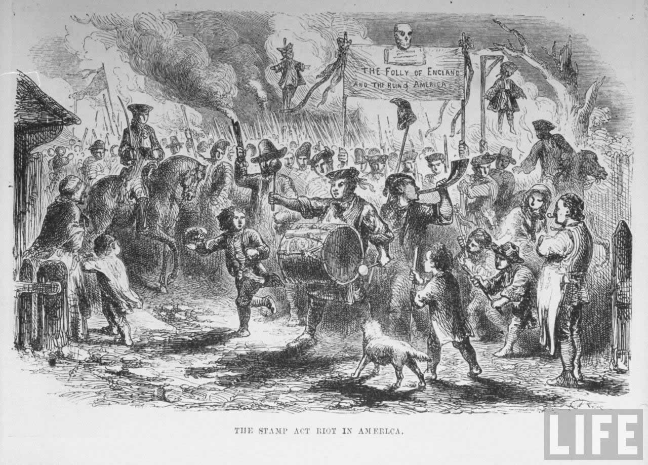 The stamp act riot1