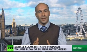 'Prostitution of journalism': Russia Today reports from London.