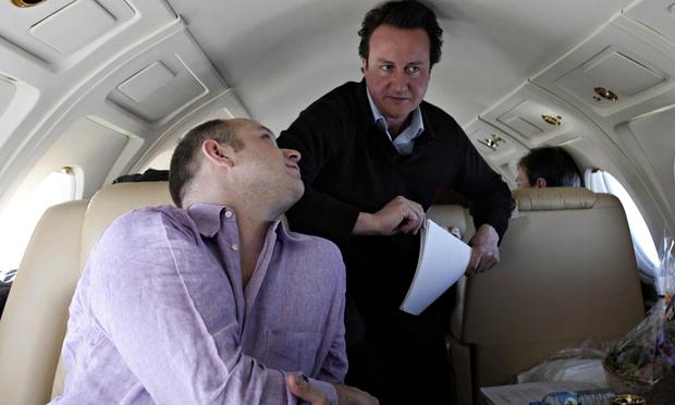 Steve Hilton and David Cameron